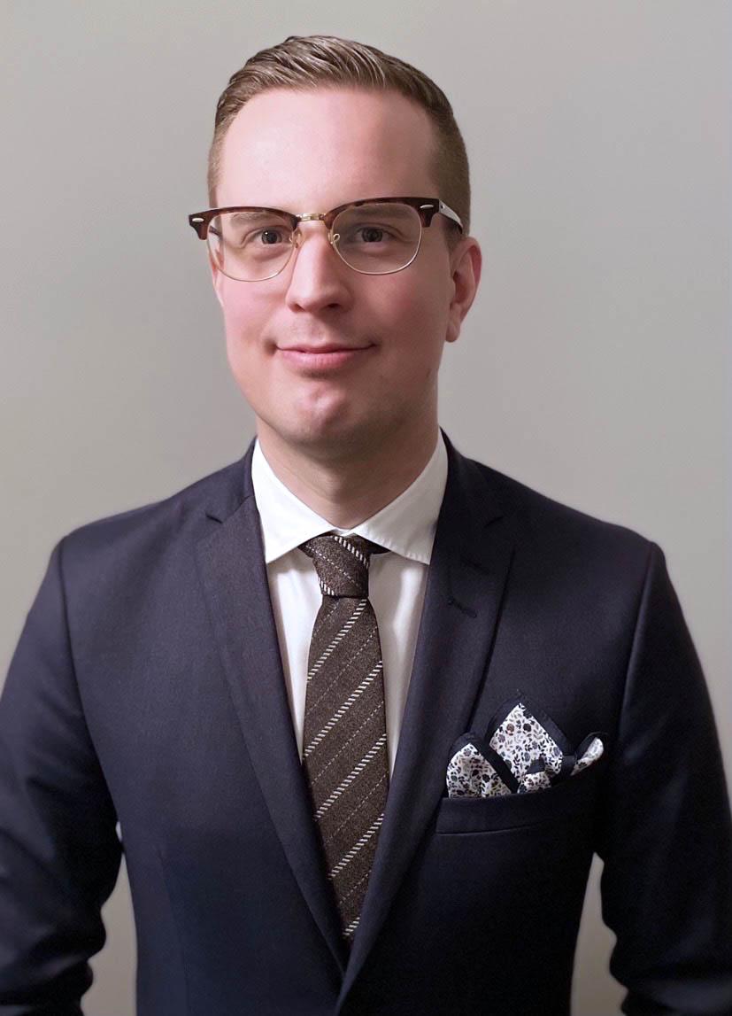 Försäljningschef Melker Andersson